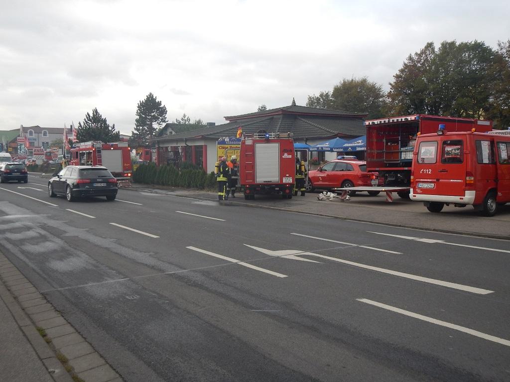 Feuerwehr Haßfurt - Brand Restaurant