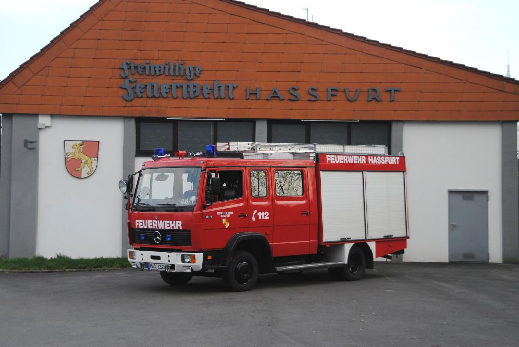 Feuerwehr haßfurt lf 8 6